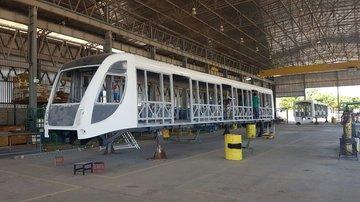 VLTs de Teresina são fabricados no Ceará (Crédito: Setrans)