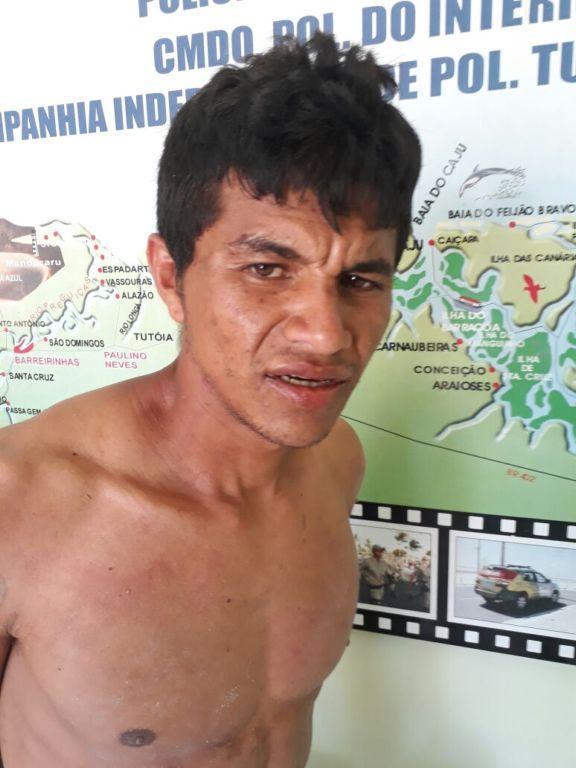 Foragido foi entregue na Central de Flagrantes de Parnaíba. (Crédito: CIPTur / Divulgação)