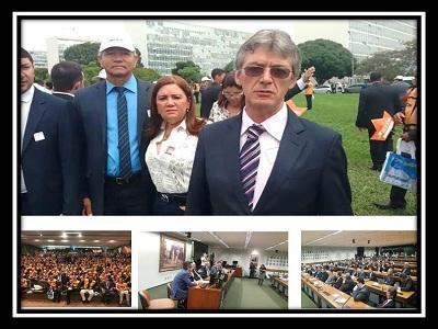 Valmir Barbosa Participa de encontro de prefeitos em Brasília