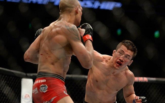 O Lutador sul-coreano Tae Hyun Bang foi condenado à prisão por aceitar propina para entregar luta no UFC (Crédito: Divulgação)