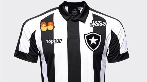 Camisa do Botafogo terá patrocínio da 'Neto's', franquia de coxinhas de Felipe Neto (Crédito: Reprodução)