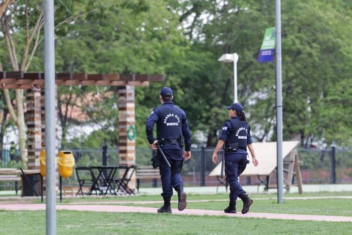Guardas municipais em Teresina (Crédito: Divulgação)