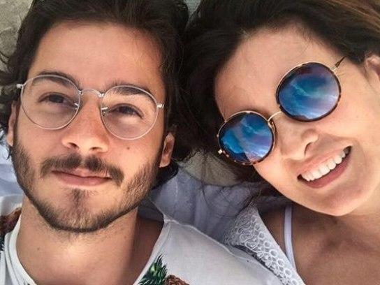 """""""É o que me interessa"""", posta Fátima Bernardes em foto com namorado"""