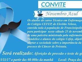 Convite - Novembro Azul