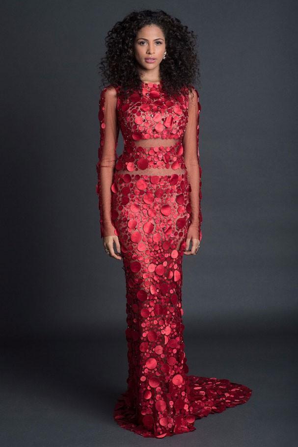 Monalysa exibe traje de gala para o Miss Universo (Crédito: Instagram)