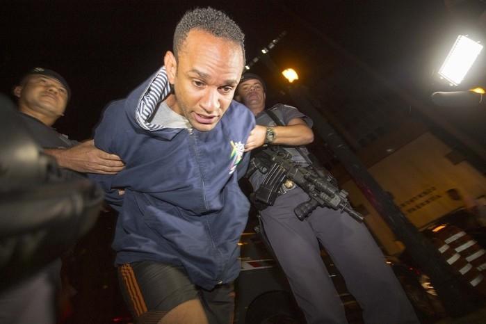 Criminoso foi capturado ontem (Crédito: Reprodução)