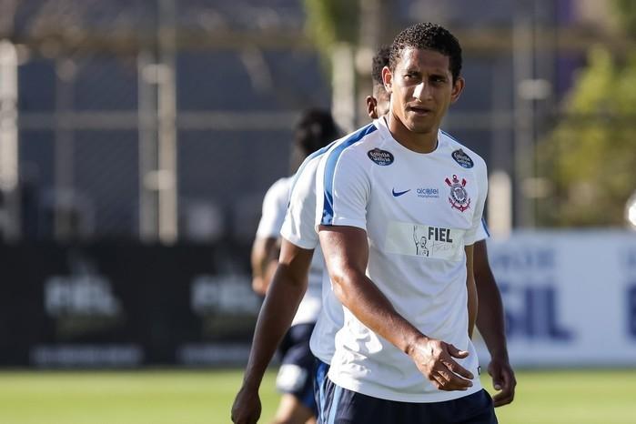 Pablo não estará na festa na Arena Corinthians neste domingo (Crédito: Rodrigo Gazzanel/Ag. Corinthians)