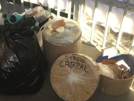 Camarão, queijo francês, castanha:veja cardápio de Cabral na cadeia