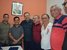 Prefeito Manoel Lázaro participou do mutirão da catarata