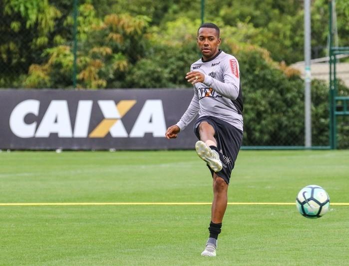 Robinho pode voltar ao Santos em 201 (Crédito: Atlético Mineiro)