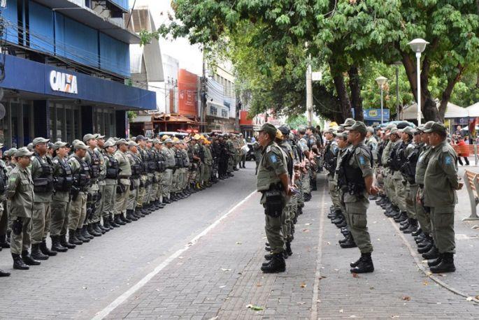 Operação conta com o apoio da PM, Detran-PI e Guarda Municipal  (Crédito: Reprodução)