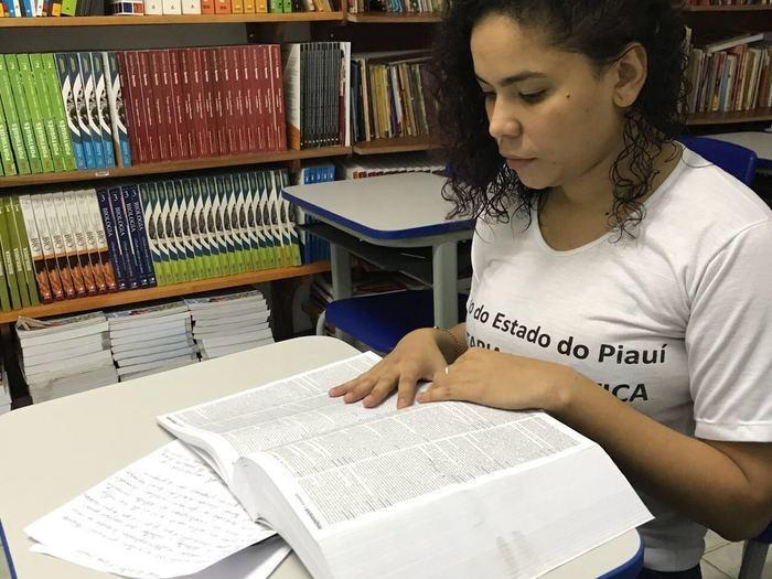 Fernanda Lima venceu concurso de redação nacional