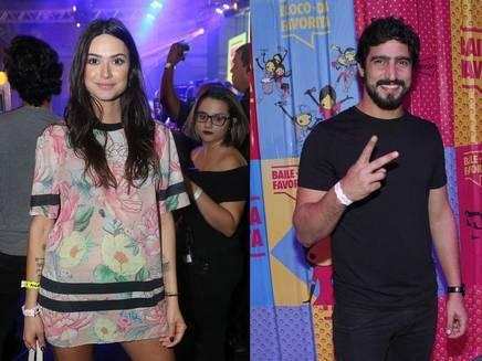 Novo casal? Thaila Ayala e Renato Goés trocam beijos em show