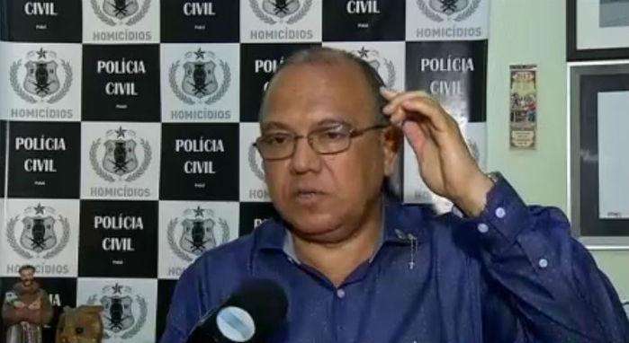 Coordenador da Delegacia de Homicídios, delegado Francisco Costa, o Baretta (Crédito: Rede Meio Norte)