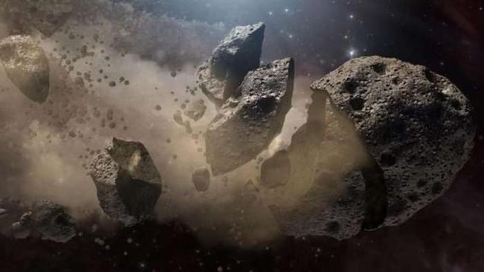 Asteroide de 5 km vai passar 'raspando' na Terra antes do Natal (Crédito: BBC)