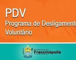 Prefeitura dar Início ao Programa de Desligamento Voluntário – PDV
