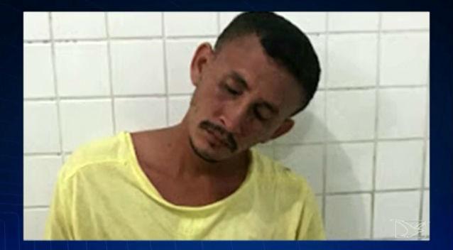 Acusado de tentar estuprar criança no Maranhão (Crédito: TV Mirante)