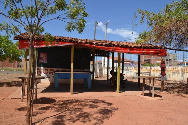 Local onde vítima foi atingida  (Crédito: Reprodução/Paula Monize)