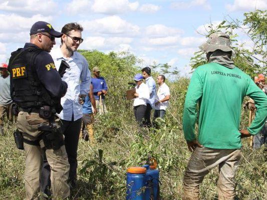 Trabalhadores rurais mantidos em trabalho escravo são resgatados