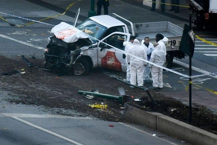 Carro atropelou e matou 8 em NY (Crédito: Reuters)