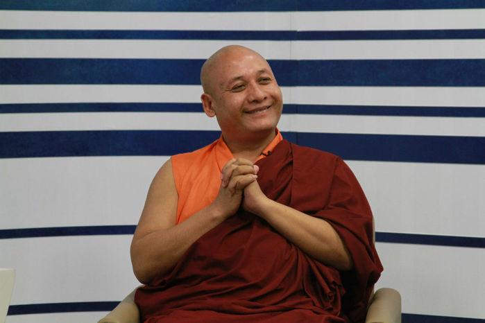 Monge Khenpo Gyaltsen, (Crédito: Raissa Morais)