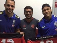 Neymar segue conta de torcedores do Flamengo no Instagram