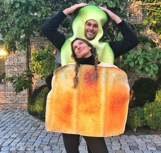 Gisele Bündchen e Tom Brady (Crédito: Reprodução)