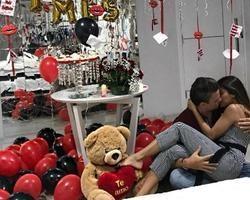 Recém-casada, ex-BBB Munik Nunes faz supresa para o marido
