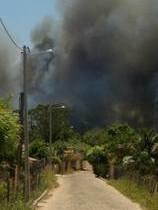 Incêndio vem castigando população em Capitão de Campos.