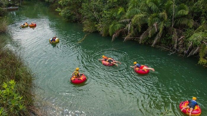 Ecoturismo e rios transparente de Bonito, Mato Grosso do Sul.  (Crédito: Divulgação)