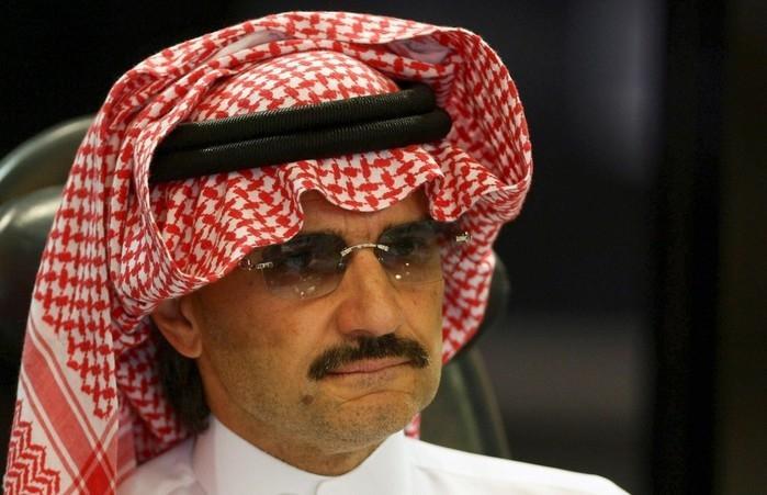 Al-Waleed bin Talal, príncipe saudita em conferência em Riad (Crédito: Reuters)