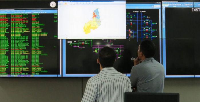 Engenheiros e técnicos do Centro de Operação Integrado estarão de plantão durante as provas (Crédito: Reprodução)