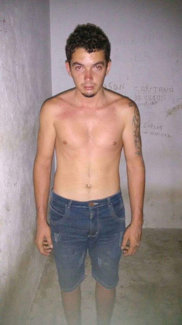Acusado foi preso quando tentava fugir (Crédito: Reprodução)