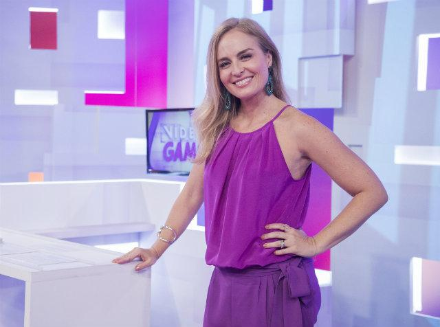 Angélica está de volta ao comando do Vídeo Game