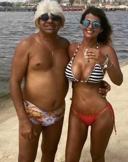 Nana Magalhães e Tiririca