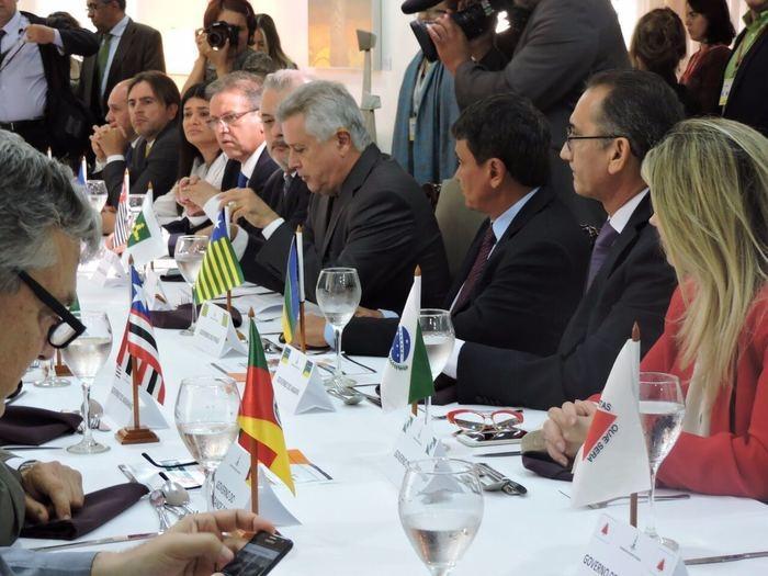 Wellington Dias no Fórum dos Governadores (Crédito: Divulgação)
