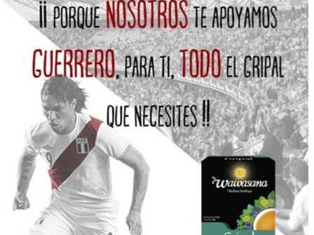 Marca de remédio natural usa imagem de Guerrero e gera polêmica