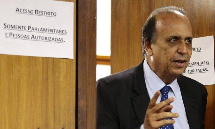 O governador do Rio, Luiz Fernando Pezão  (Crédito: Jorge William / Agência O Globo  )