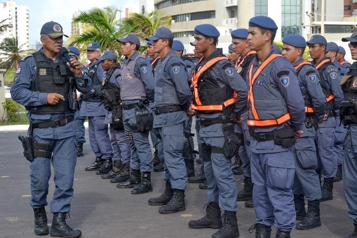 Concurso da Polícia Militar do Maranhão (Crédito: Karlos Geromy/Secom)