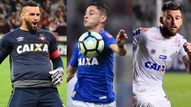 Trio pode compor o elenco do Palmeiras em 2018 (Crédito: Reprodução)