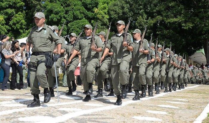 Concurso da Polícia Militar do Piauí (Crédito: Reprodução)
