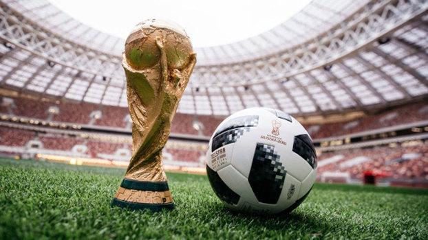 Telstar 18, a bola oficial da Copa do Mundo na Rússia (Crédito: Getty)
