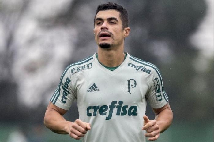 Egídio tem sido muito criticado pela torcida do Palmeiras (Crédito: AGIF)