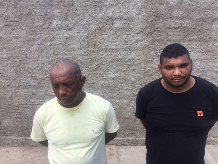 Acusados de tráfico de drogas em Teresina (Crédito: Divulgação)
