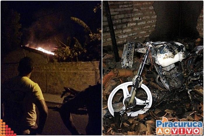 Pane elétrica causa incêndio e destrói residência em Piracuruca