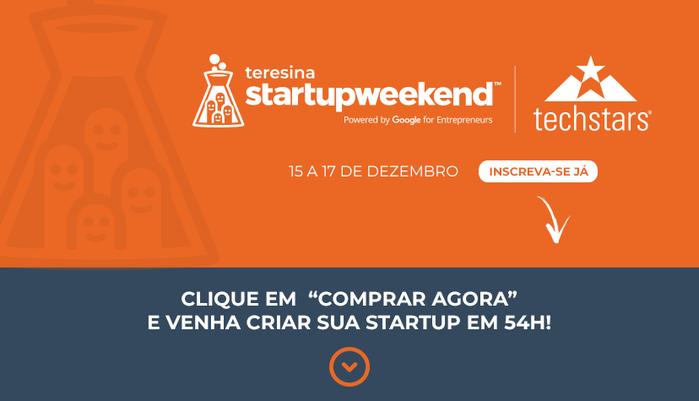 Startup Weekend acontece em Teresina de 15 a 17 de dezembro