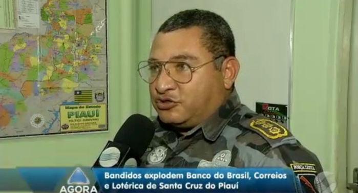 Comandante do Semiárido, Márcio Oliveira (Crédito: Rede Meio Norte)