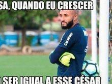 Após classificação com Cesar, memes não perdoam goleiro Muralha