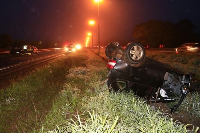 Acidente envolvendo 8 veículos deixa uma pessoa morta no DF