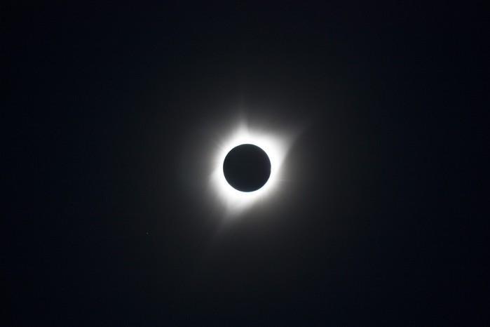 Eclipse aconteceu em agosto deste ano (Crédito: Nasa)